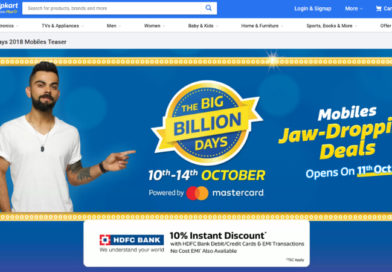 Flipkart Big Billion Days Sale: Nokia 6.1 Plus, Xiaomi Mi Mix 2, Samsung Galaxy S8 Discounts